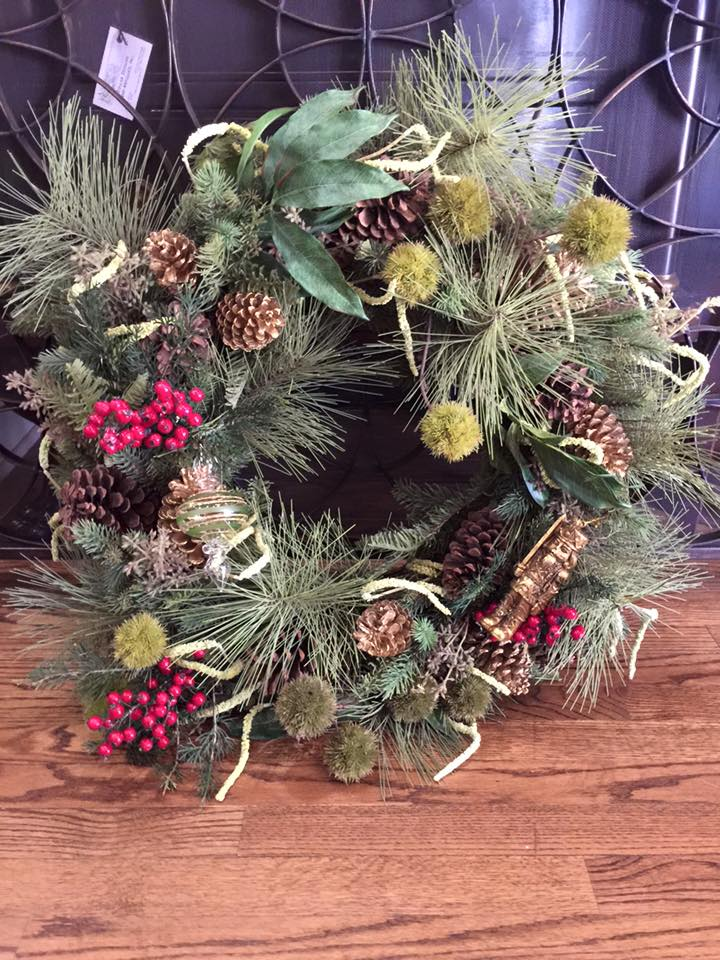 Order your custom made Christmas Wreath today